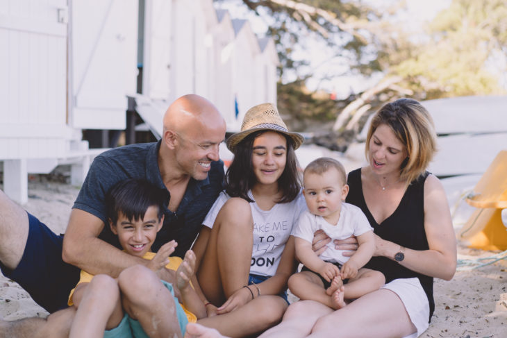 photographe séance famille sur l'île de Noirmoutier
