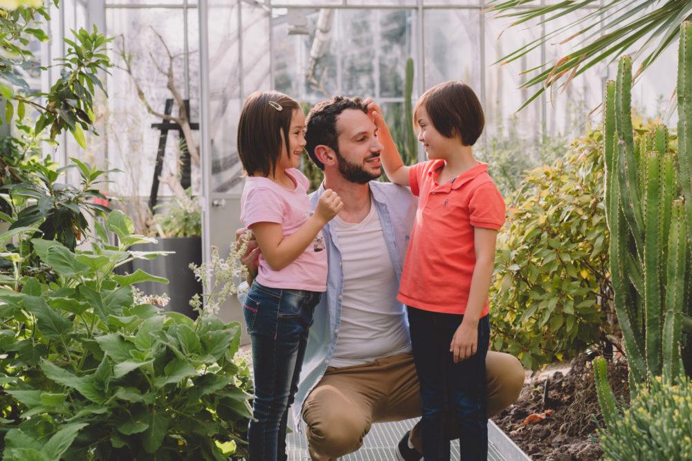 seance famille jardin des plantes nantes