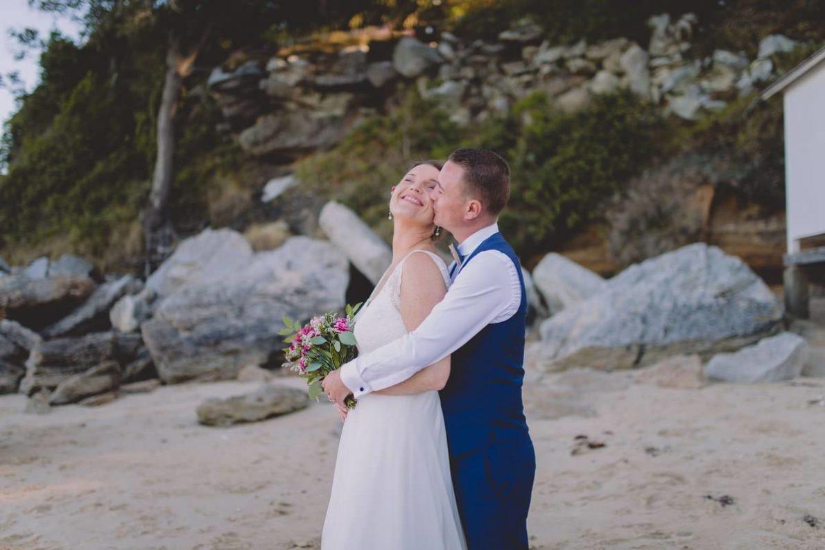 Séance couple, mariage, plage de l'Anse rouge à Noirmoutier