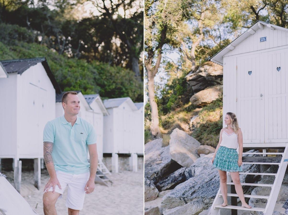 Séance couple à Noirmoutier en l'île