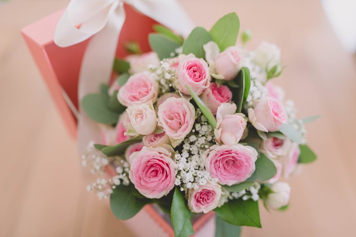 bouquet de rose mariage