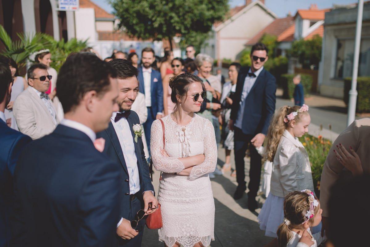 Cérémonie civile mariage à Préfailles