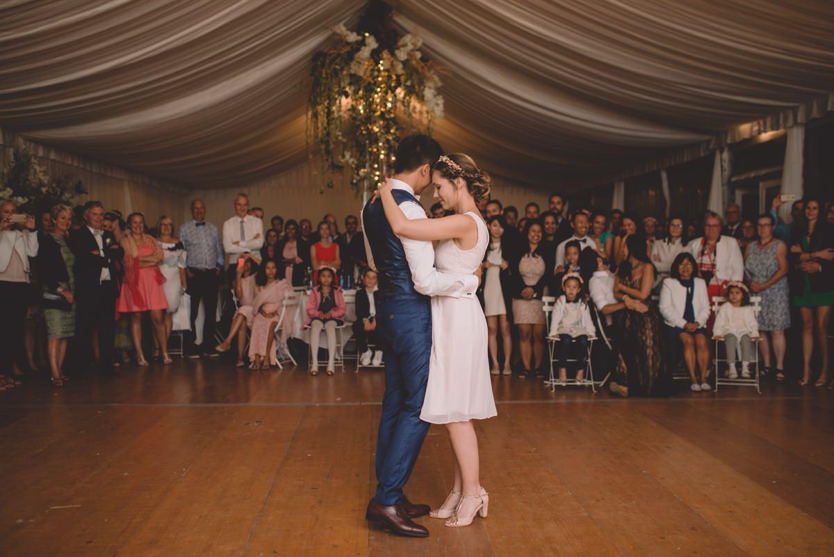 Soirée dansante mariage au Château de la Gressière