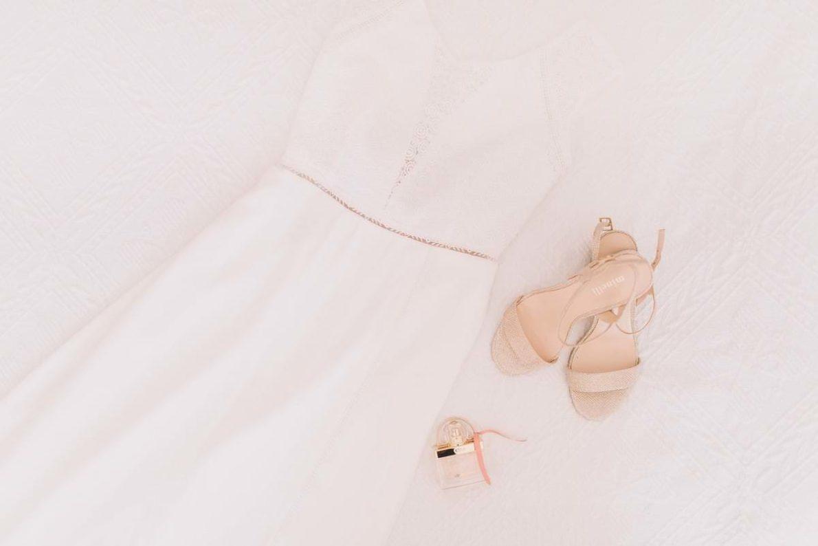 Photographe de mariage robe rembo styling