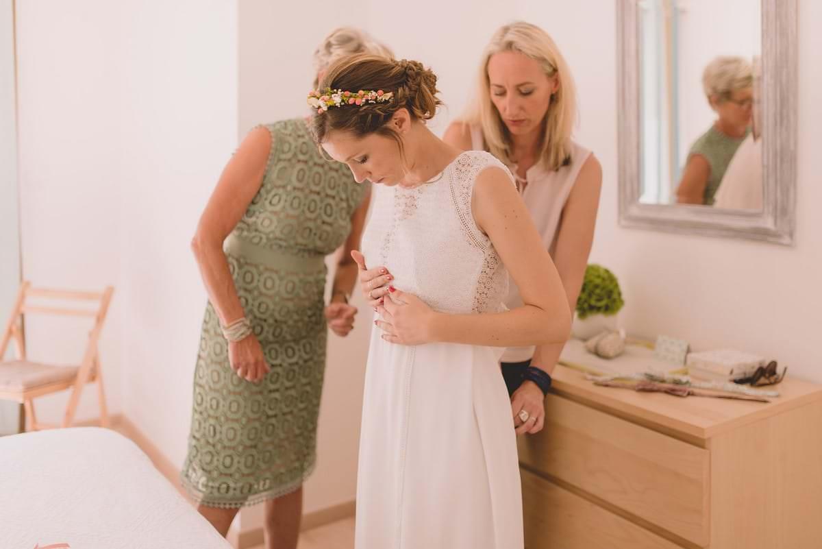 Photographier les préparatifs d'un mariage