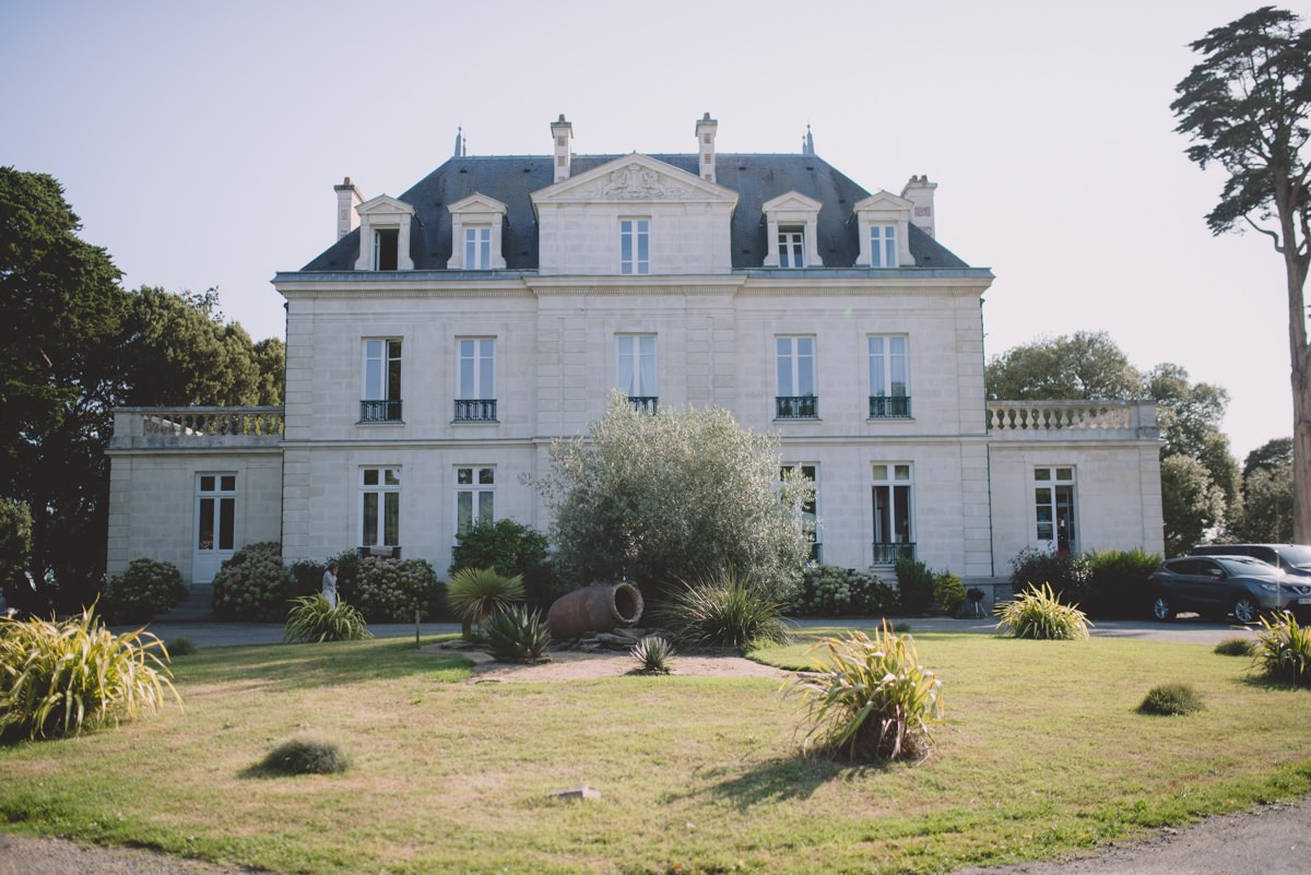 Mariage au château de la Gressière à la Bernerie en retz
